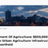 Department Of Agriculture: $500,000 Available To Improve Urban Agriculture Infrastructure, Combat Food Apartheid